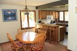Sunrise 6  Mammoth Vacation Rental- Open Concept Dining Room and Kitchen